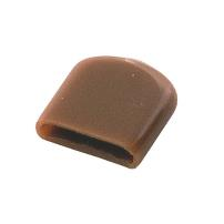 PVC Cover Cap, RAL 8003, F/Stop Bracket, 15x3x16mm