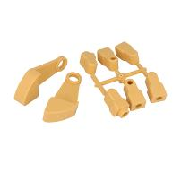 Drop Side Fitting F/Babycot, Pine, 8 Parts