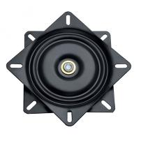 Swivel Plate 360DG-HB, 151x151mm, Black ZP, Load Cap. 150KG,