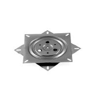 Swivel Plate 360DG, 175x175mm, Zinc Pl, Load Capacity 100KG