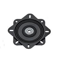 Swivel Plate 360DG-HB, 179x179mm, Black ZP, Load Cap. 200KG,