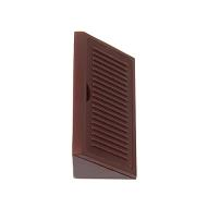 Corner Fix #200 PP Plast, Dark Brown, With Cover