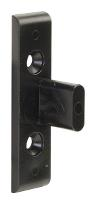 Susp. Hanger Fitting, Black PC, Male Part, cc:32mm, F/Euro