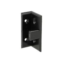 Susp. Hanger Fitting, Black PC, Angled Male Part, cc:32mm,F/