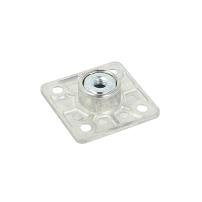 Kea Bushing M8, W/Square Plate, cc 32mm, W/4 Screw Holes