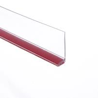 PVC Seal Glass To Floor, ADH02, 2,5 Mtr, F/8-12mm Glass