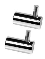 Towel Hooks W/Pin, SS-304 -Polished, Blister Packing, W/2