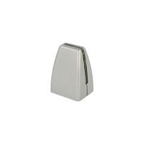 Partition Panel Clamp, Top-Fix, Alu, Silver Painted,F/4-8mm