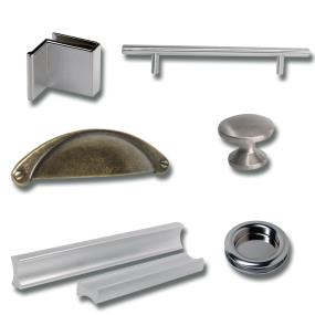 Furniture Handles & Knobs for Wood & Glass Doors