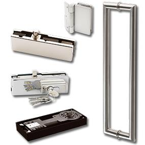 Patch Fittings, Glass Door Locks & Bar Handles