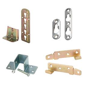 Bed Fittings, Bed Supports & Keyhole Fixtures