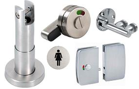 Stainless Steel Toilet Cubicle Fittings