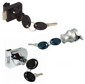 Glass Door Locks for Single Doors